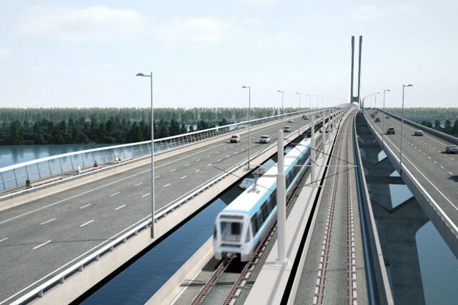 Train électrique à Montréal: la facture augmente à 5,9milliards$ | Julien Arsenault | Transports