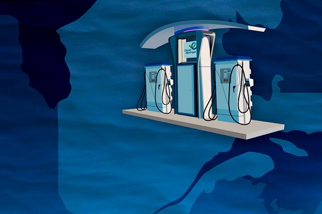 Rouler électrique: De la recharge disponible partout!