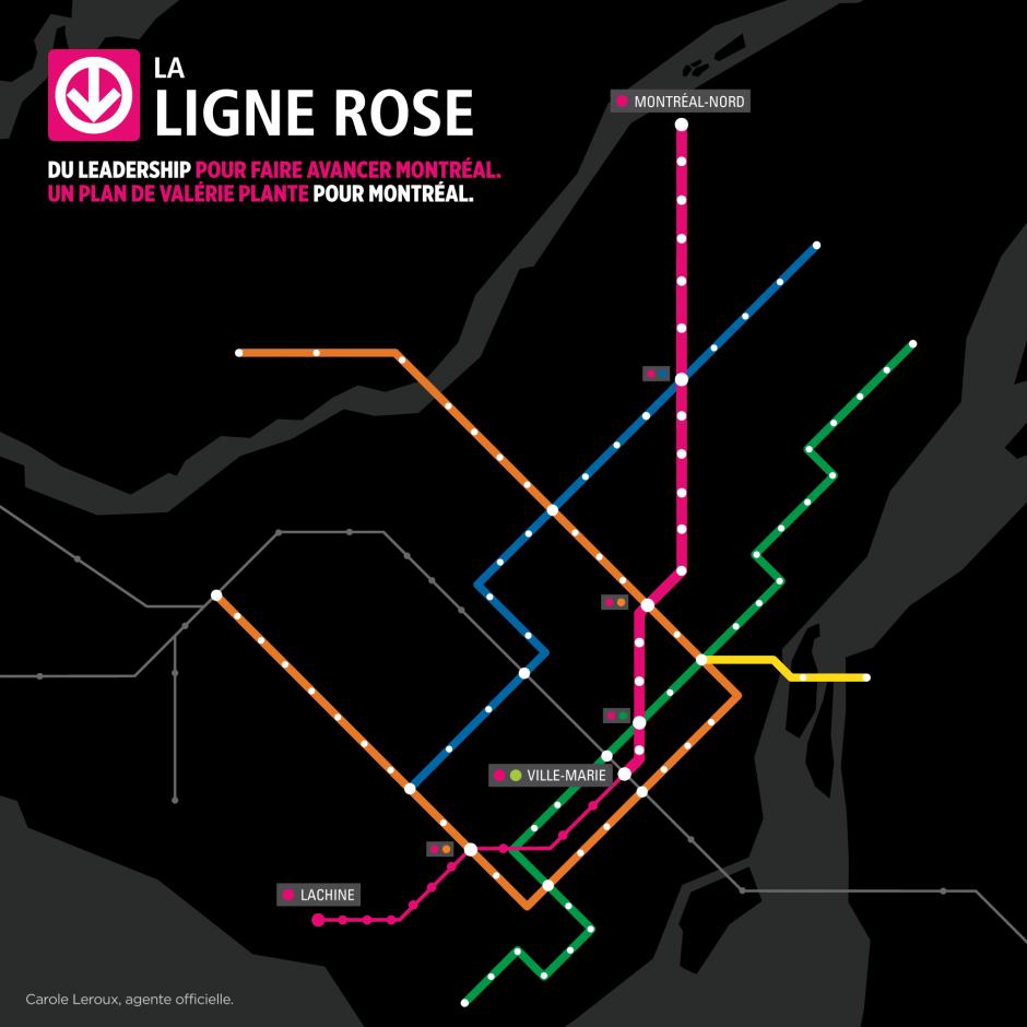 Ligne rose: un 2e rejet en moins de 6 mois | Courrier Laval