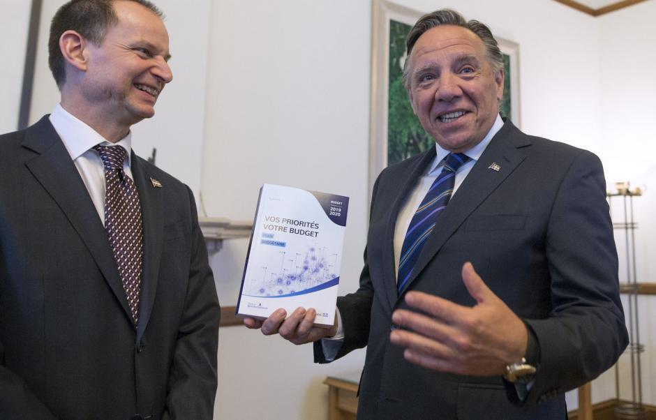 Budget 2019-2020 du Québec: le gouvernement Legault investit dans ses promesses