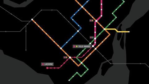 Découvrez où seraient les stations de la ligne rose | ICI.Radio-Canada.ca