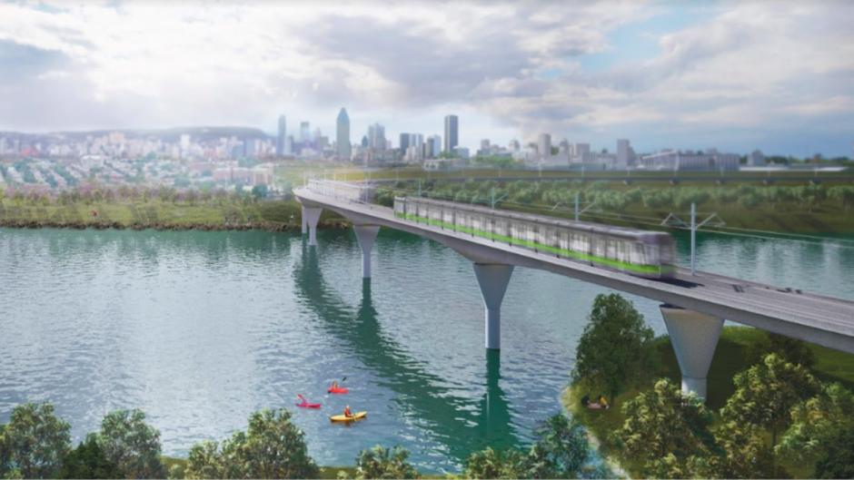 Prolonger le REM en banlieue, la priorité de Bonnardel pour Montréal